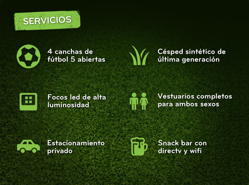 El Clasico Futbol 5 Servicios