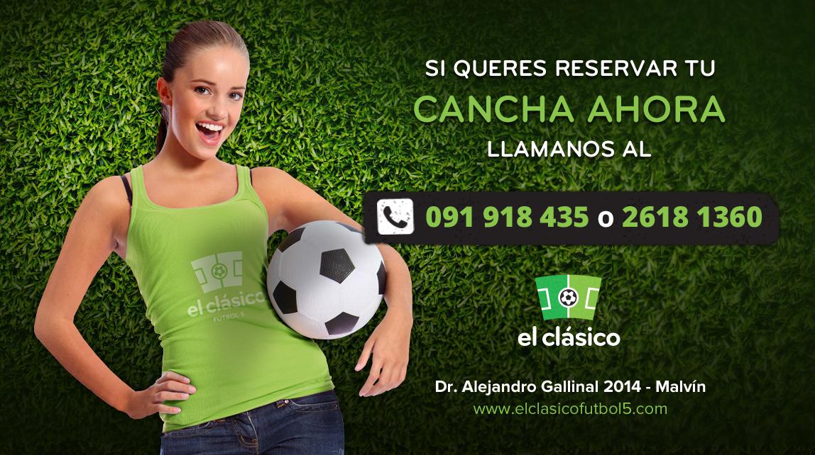 Futbol 5 reservas