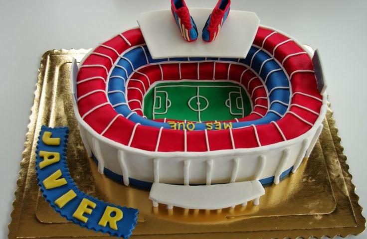 tortas de futbol